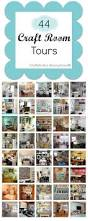 huge list of craft rooms room tour organization ideas and