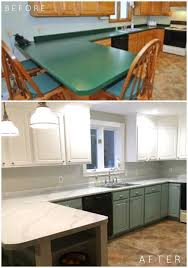 can you spray nuvo cabinet paint we re seriously in with this diy kitchen renovation