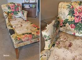 Vintage Chaise Lounge Chaise Slipcover The Slipcover Maker