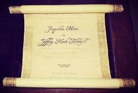 Diy Scroll Invitations Vintage Scroll Wedding Invitation 12 Steps