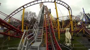 alpine thriller roller coaster winter hyde park 2013