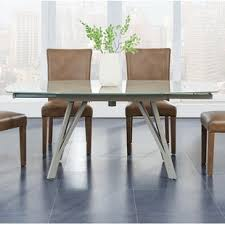 wayfair glass dining table expandable glass dining table extendable the wooden houses making an