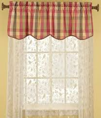 Plaid Kitchen Curtains Valances by Plaid Curtains Green Bj U0027s Country Charm Sage Green Plaid