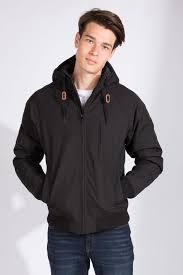 mens solid hooded er jacket at bluenotes