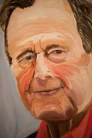 memorials on the veteran portraits of george w bush the