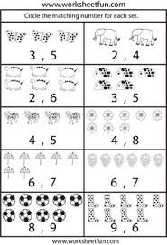 number worksheets worksheets for kindergarten kindergarten and