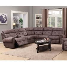 Sectional Sofa Recliner by Reclining Sectional Sofa Corner Gray Fabric Recliner Sofa With