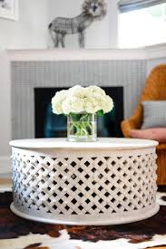carved wood coffee table photo page hgtv