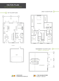 Waterfront Key Floor Plan by Patchen Wilkes Townhomes U2014 Andover Construction