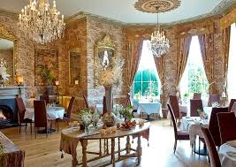 Hotel Dining Country House Cooking Castle Durrow - Castle dining room