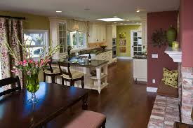 green paint colors for kitchen living room farmhouse with