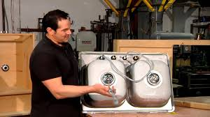 Fixing Kitchen Sink Drain How To Properly Install A Sink Drain In A Stainless Steel Sink