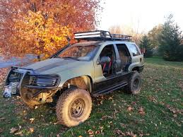 jeep wj roof lights roof rack lighting jeepforum com