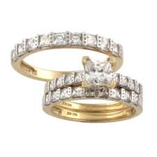 his and hers engagement rings sets his sets wedding rings for less overstock