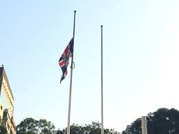 Flying The Flag At Half Staff Uk In Egypt On Twitter