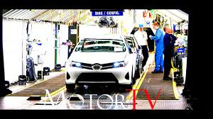 toyota highlander indiana factory line car factory introduction to the toyota production system eng