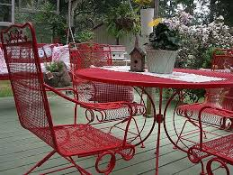 guides to choosing metal patio table furniture backyard