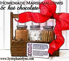 hot chocolate gift basket hot chocolate marshmallows easy inexpensive gift