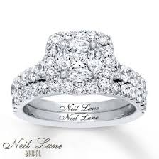 neil bridal set neil bridal set 2 1 6 ct tw diamonds 14k white gold neil