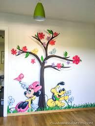 dessin chambre bébé garçon dessin mural chambre fille peinture murale pour chambre duenfants
