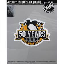 2017 official pittsburgh penguins 50th anniversary