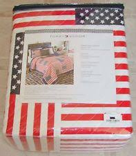 American Flag Bedding Tommy Hilfiger Atlantica King Quilt Bedding Ebay