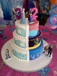 frozen birthday cake teki 25 den fazla en iyi elsa birthday cake fikri
