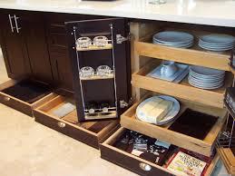 Organized Kitchen Cabinets Pull Out Cabinet Organizer Kitchen Home And Interior