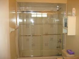 bathroom showers without doors white black high glossy finished