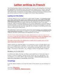 business letter template in french resumo novela indomavel coracao