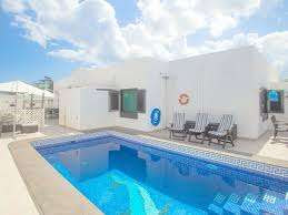 tot safe villa costa teguise luxury villa with gated pool ideal