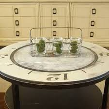 Clock Coffee Table How To Paint A Clock Coffee Table How To Paint Furniture Tip