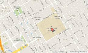 san jose state map gunman reported in san jose state building students shelter in