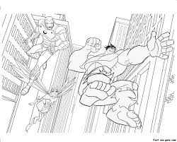 groups super heroes coloring pages story hero