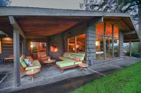 green home design mid century modern patio design covered patio in design exterior