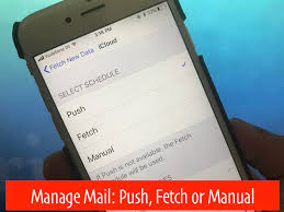 yahoo email not pushing to iphone fetch new data in ios 11 turn on disable push or fetch in iphone ipad