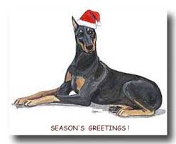 doberman pinscher cards