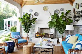 enticing summer decor idea with of an eclectic porch design with