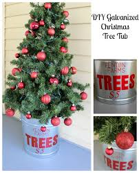 diy galvanized tree tub 2 bees in a pod