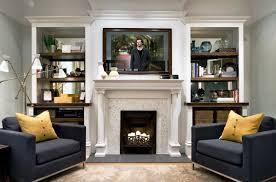 fireplace and tv binhminh decoration