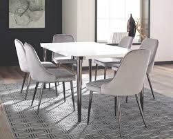 coaster 107953 s7 7pc riverbank dining collection