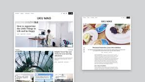 design style our uku theme gets a new design style and second live demo