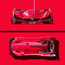home design for the future tesla le mans 2030 official submission to the michelin design
