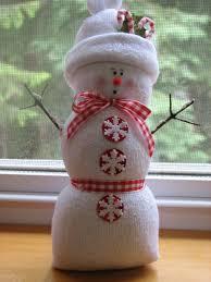 sock snowman snowman craft pinterest sock snowman snowman