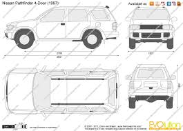 pathfinder nissan 2003 the blueprints com vector drawing nissan pathfinder 4 door