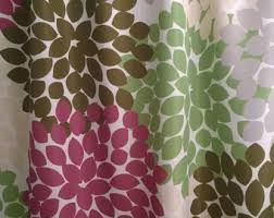 Grey Green Shower Curtain Floral Shower Curtain In Trending Navy Coral Aqua And Gray