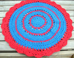 red and turquoise area rug doherty house beautiful style