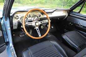 ford mustang 1967 interior blue 1967 ford mustang g t 500 rod