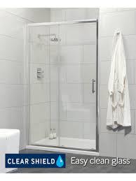 cello range 1200 sliding shower door