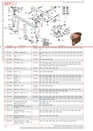 massey ferguson front axle page 44 sparex parts lists
